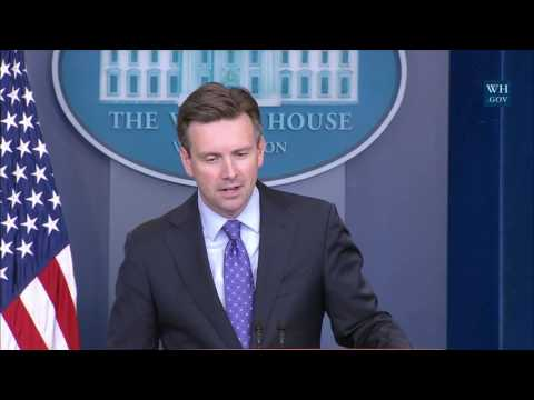 10/27/16: White House Press Briefing