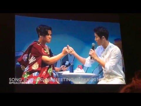 Song JoongKi Fanmeeting in BKK 7th May 2016