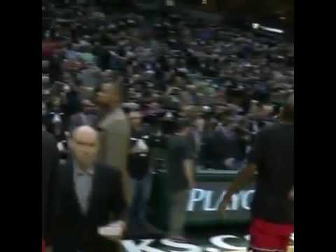 The Bucks Played Barney Theme Song During The Raptors Player Introductions 78a69a78b