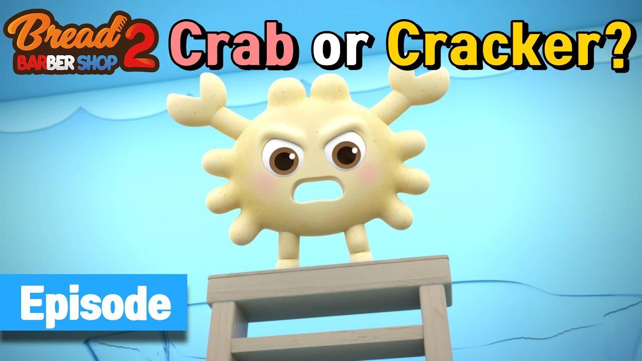 Download BreadBarbershop2 | ep13 | Crab or Cracker? | english/animation/dessert/cartoon