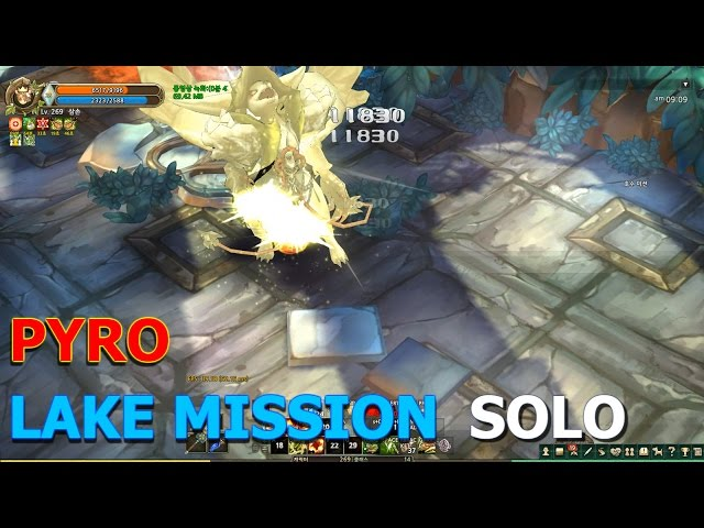 TOS] Pyro Lake Mission solo play (Saalus Convent mission) ??? ?? ?? ??