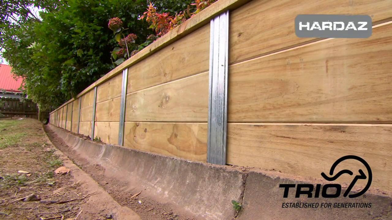 Hardaz Retaining Wall Systems Trio Making Hardware Easy