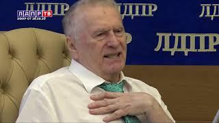 Как в Белоруссии НЕ БУДЕТ! Жириновский высказался о протестах в России