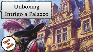 Dentro la Scatola (unboxing 039) - Intrigo a Palazzo [Intrigue]