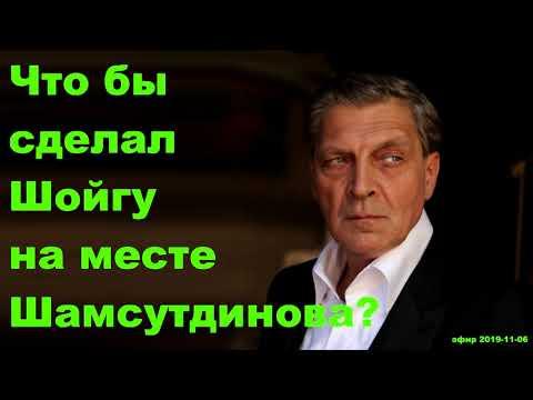 Невзоров - Что бы сделал Шойгу на месте Шамсутдинова?