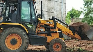 Jcb 3dx machine working in field | jcb working | Jcb videos | CFV