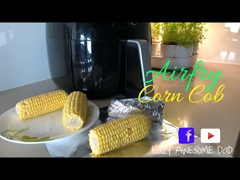 Your perfect corn on the cob in Philips AirFryer XXL Avance - How to air fry your corncob