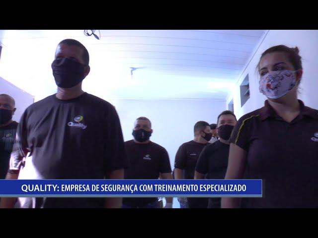 EMPRESA QUALITY INTENSIFICA TREINAMENTO DE SEUS SEGURANÇAS