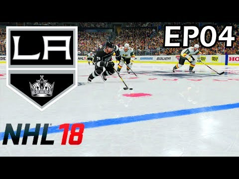 NHL 18 Los Angeles Kings Franchise - EP04 - Tyranny