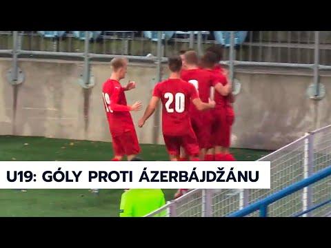 U19   Gólový sestřih zápasu Česko - Ázerbájdžán