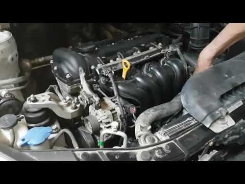 Капитальный ремонт двигателя G4FC. Первый пуск.