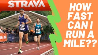 HOW FAST CAN I RUN A MILE? At the NIGHT of the 10,000M PB's!!