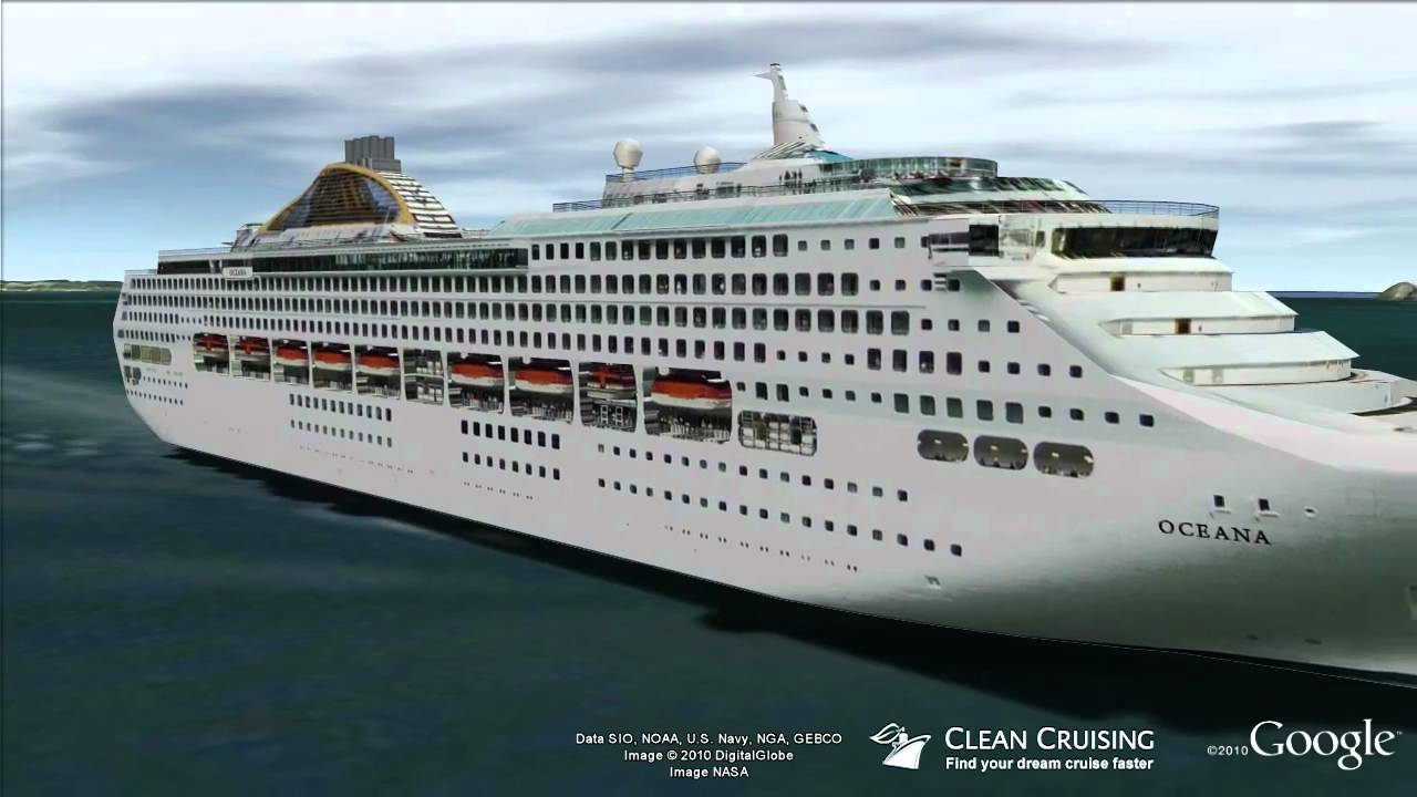 oceana virtual ship tour youtube