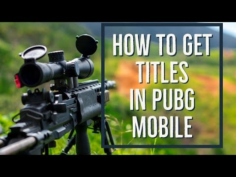 How to get over achiever title in pubg mobile | Easy way