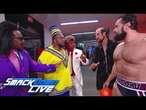 Rusev & Aiden English trash The New Day's Halloween candy: SmackDown LIVE, Oct. 31, 2017