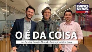 O É da Coisa, com Reinaldo Azevedo - 10/12/2019 - AO VIVO