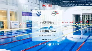 XIII FINSWIMMING WORLD CUP 2018 GOLDEN FINAL (23-09-2018) session 2