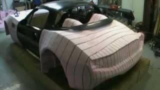 Bailey Blade Car Design | Sculpting Foam Core - Part 10