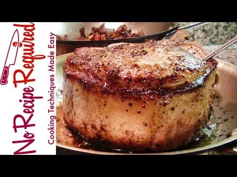 10 Steps to Cooking a Perfect Pork Chop – NoRecipeRequired.com