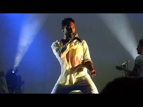 Miguel - Waves Live @ Olympia, Paris, 2015 HD