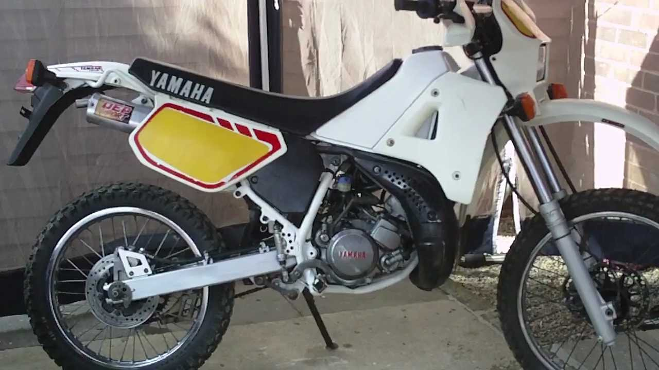 Yamaha Dt 125 R 1995 And 1989 Dtr Motorcycles