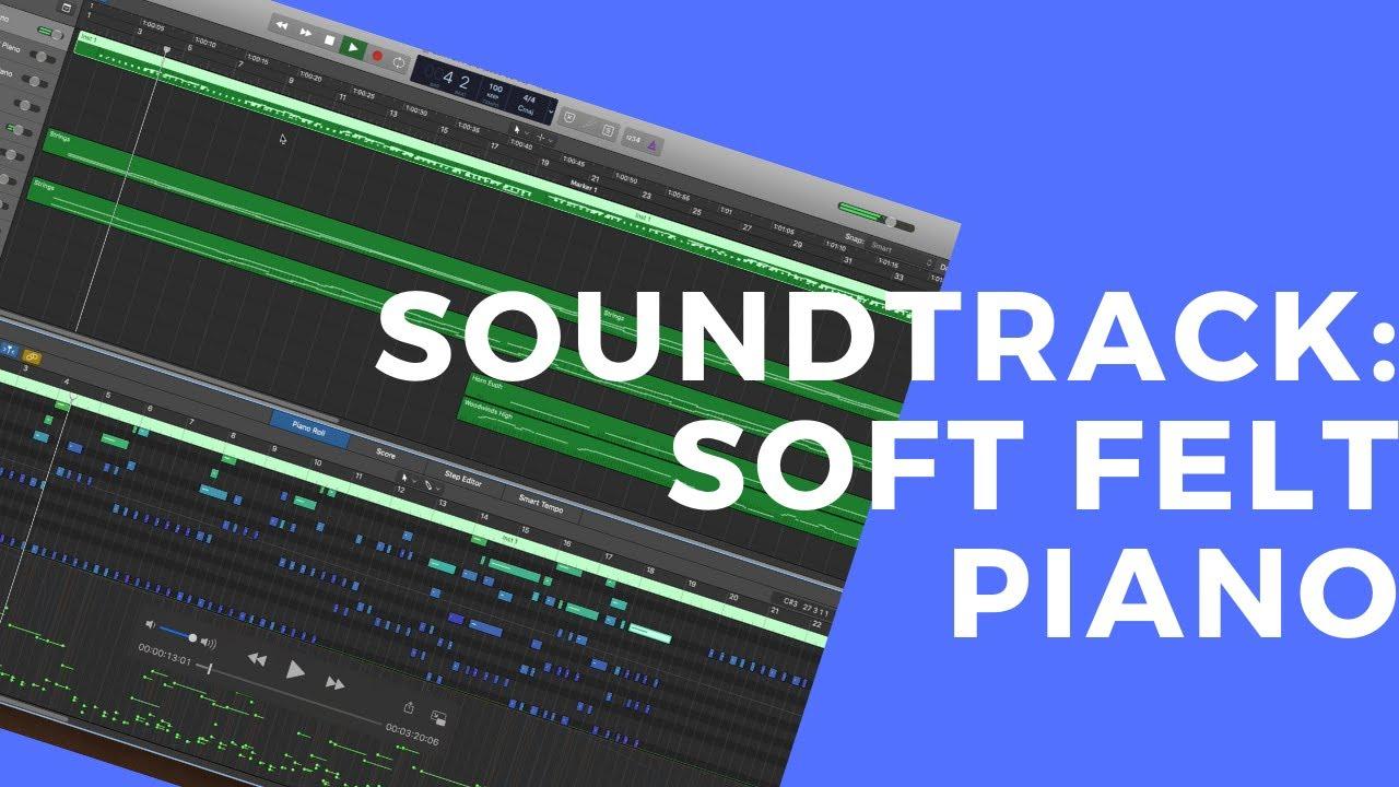 Charlie Albright's Soft Felt Piano Soundtrack Composition