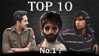 Top 10 Best Bollywood Movies of 2019