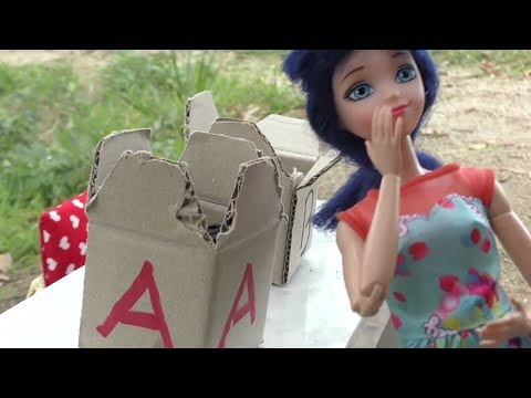 NO destruyas la CAJA Incorrecta Challenge con Marinette y Adrien | Cuentos y Juguetes de Adri