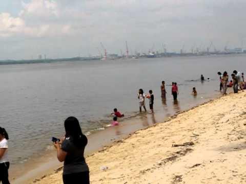 Sembawang Beach in Singapore