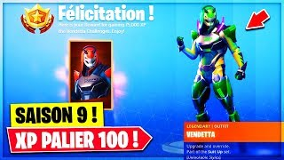 BE PALIER 100 SAISON 9 FREE on Fortnite!