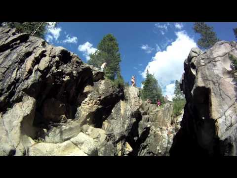 Super Secret Colorado Cliff Jumping