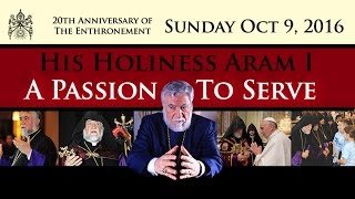 Pontifical Divine Liturgy W/ His Holiness Aram I At Sts. Vartanantz Armenian Church NJ