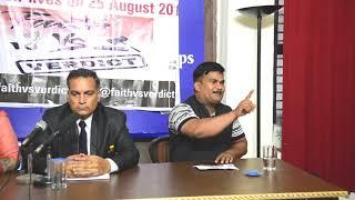 Sandeep Mishra (Gurmeet Ram Rahim Supporter) Faith Vs Verdict Press Conference; 14 August 2018