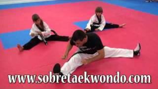Entrenamiento de movilidad articular en Taekwondo