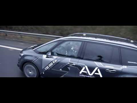 Sebastien Loeb tests Groupe PSA's autonomous car - AVA Program
