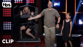 Go Big Show: Magician Shocks Judges With First Illusion He's Ever Performed (Clip) | TBS