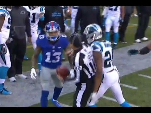 Odell Beckham Jr, Josh Norman Attack Should Get NFL Fine