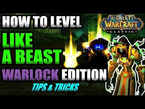 Warlock Leveling Guide! How To Level Like a BEAST In Classic WoW!!