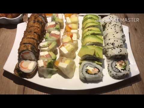recette-sushi-très-facile-طريقة-سهلة-لتحضير-السوشي-باشكال-مختلفة