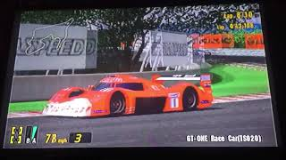 Gran Turismo 3 A-Spec GT-ONE Race Car (TS020) Grand Valley Speedway 2/2