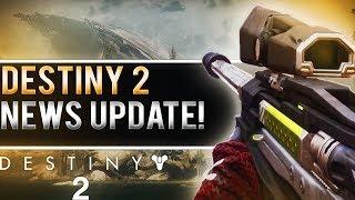 DESTINY 2 NEWS UPDATE! (Seasons, Clan Level, Progression, Rewards & More!)