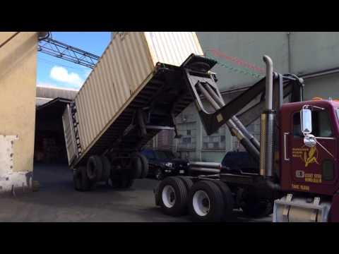 Flour Tipping Truck