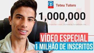 Video ESPECIAL DE 1 MILHÃO de inscritos do canal Teteu Tutors download MP3, 3GP, MP4, WEBM, AVI, FLV Agustus 2018