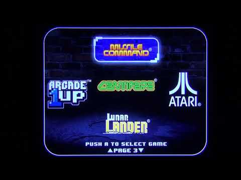 Arcade1up Let's Play: Atari 12-in-1 Cabinet (7/18/20) from georgef551