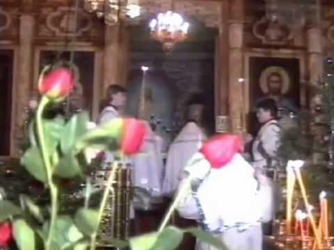 Литургия в Богоявленском (Елоховском) соборе