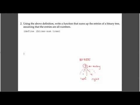 [CS61A - Sp15] Discussion 8 - BTree Sum