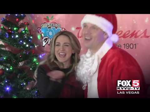 Nick Carter's Toy Drive Kissing Booth - More at Fox 5
