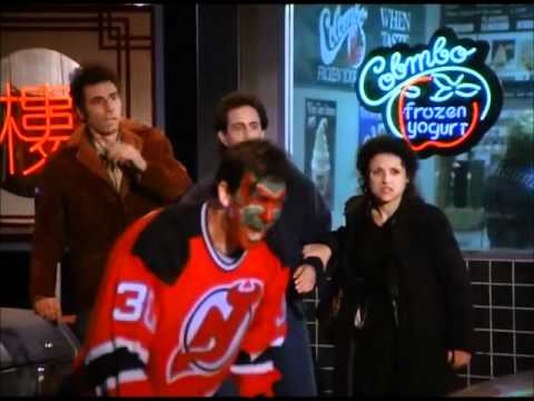 SEINFELD DAVID PUDDY MAD DEVILS FAN YouTube