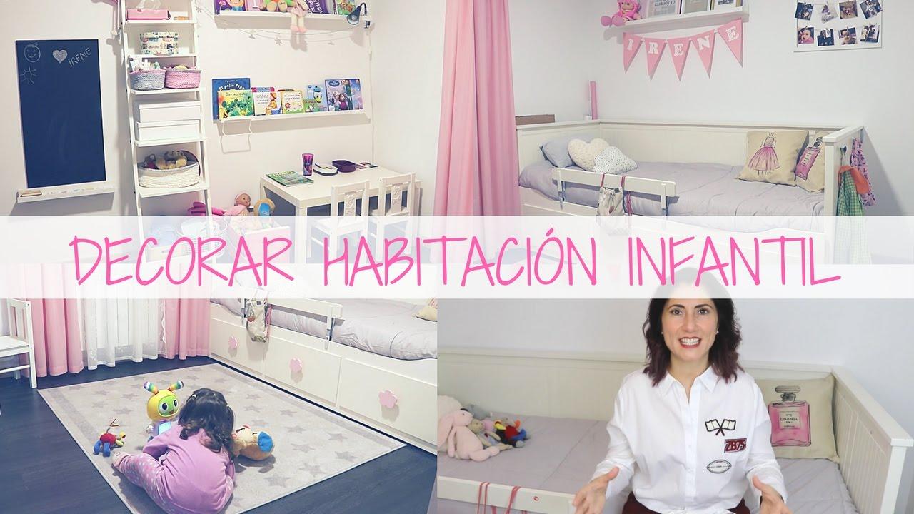 cmo decorar un dormitorio infantil room tour infantil
