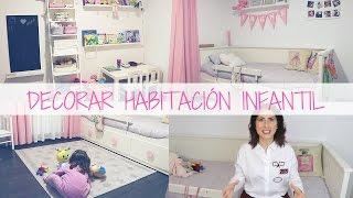 👶 Cómo decorar un dormitorio infantil - Room Tour Infantil